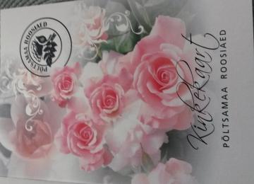 Nüüd saab roosiaia kinkekaarte ka meie e-poest!