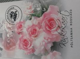 2020 UUS!  Põltsamaa roosiaia kinkekaart 1